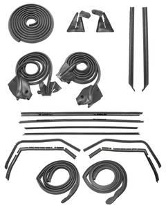 1971-73 Riviera Weatherstrip Kits, Stage I