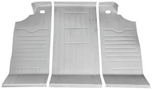 1965-1968 Bonneville Trunk Floor, Pontiac Bonneville Convertible (3-Piece)