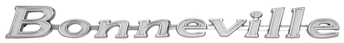 "Photo of Header Panel Emblem, 1967 ""Bonneville"""