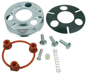 1967-68 Skylark Horn Cap Mounting Kit Standard Wheel