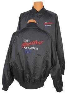 Heartbeat Of America Satin Racing Jacket (No Car)