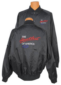 Heartbeat Of America Satin Racing Jacket (No Car)