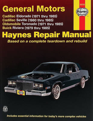 Haynes Repair Manual Eldorado