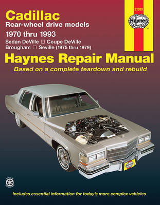 Haynes Repair Manual Rear Wheel Drive Repair