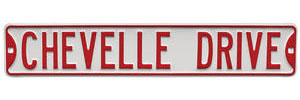 "1964-77 Street Sign ""Chevelle Drive"""