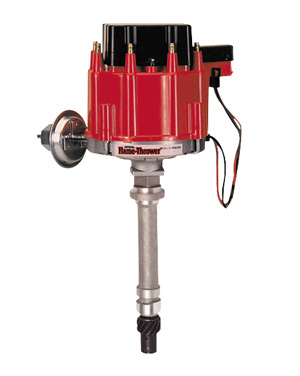 Photo of Chevelle Distributor, Flame-Thrower HEI red cap
