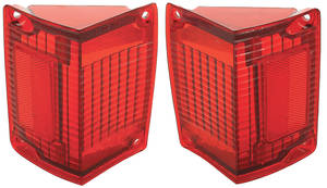 Tail Lamp Lens, 1970-72 El Camino & Wagon