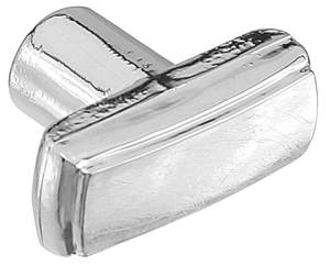 1968-1968 El Camino Dash Accessory Wiper Bezel Chrome Knob