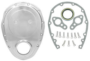 1964-77 Chevelle Timing Cover Kit, Small-Block Aluminum