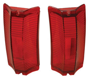 Tail & Diffuser Lamp Lens, 1965 El Camino & Wagon Red Lens
