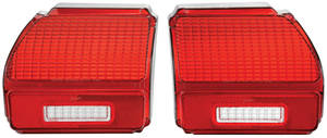 Tail Lamp Lens, 1969 Chevelle