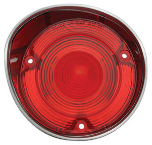 Tail Lamp Lens, 1971 Chevelle w/o Trim