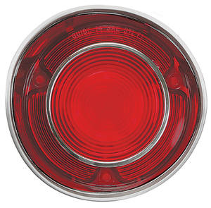 Tail Lamp Lens, 1971 Chevelle w/Trim