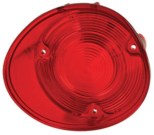 Tail Lamp Lens, 1972 Chevelle w/o Trim, by TRIM PARTS