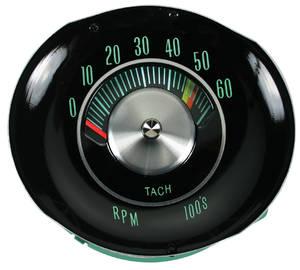 El Camino Tachometer, 1964-65 In Dash