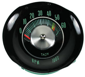 Chevelle Tachometer, 1964-65 In Dash
