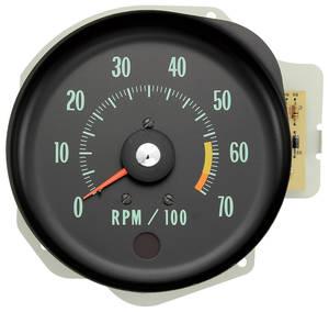 1970 Monte Carlo Dash Tachometer (In Dash) (L78, L89 & LS6; 6500 RL)
