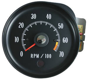 1971 Chevelle Tachometer (In Dash) LS6, 6500RL