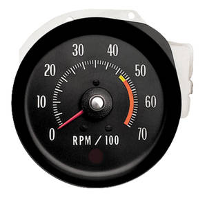 1971-72 Chevelle Tachometer (In Dash) L48 & L65, 5000RL