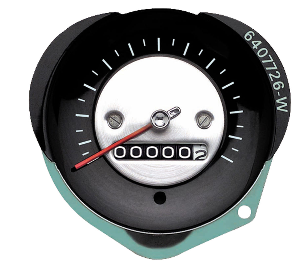 Photo of Speedometer w/o speed warning