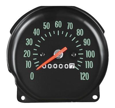 1970 El Camino Speedometer Floor Shift, w/Round Gauges
