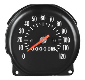 1970 Monte Carlo Speedometer (Floor Shift with Round Gauges)