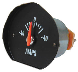 1971-72 Chevelle Gauge, AMP White
