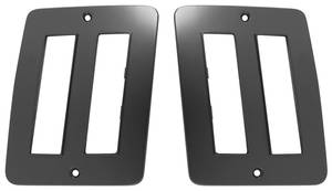 El Camino Marker Bezel, 1973-77 Rear Wagon, by TRIM PARTS