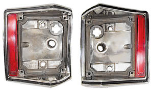 1970-72 Tail Lamp Housings; El Camino & Wagon