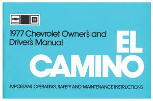 1977 Owners Manuals, Authentic El Camino