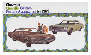 1968 Color Sales Brochure, Chevelle