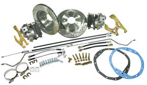 1970-72 Monte Carlo Brake Conversion Kit, Rear Disc Deluxe Kit