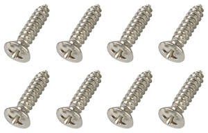 1964-1977 Chevelle Step Plate Screws 8-Piece, by RESTOPARTS