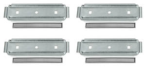 1967-1967 Chevelle Seat Cover Emblems 2 Pair (8-Piece)
