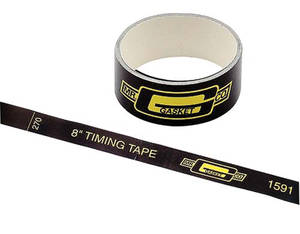 "1978-1988 Monte Carlo Timing Tape 8"", by Mr. Gasket"