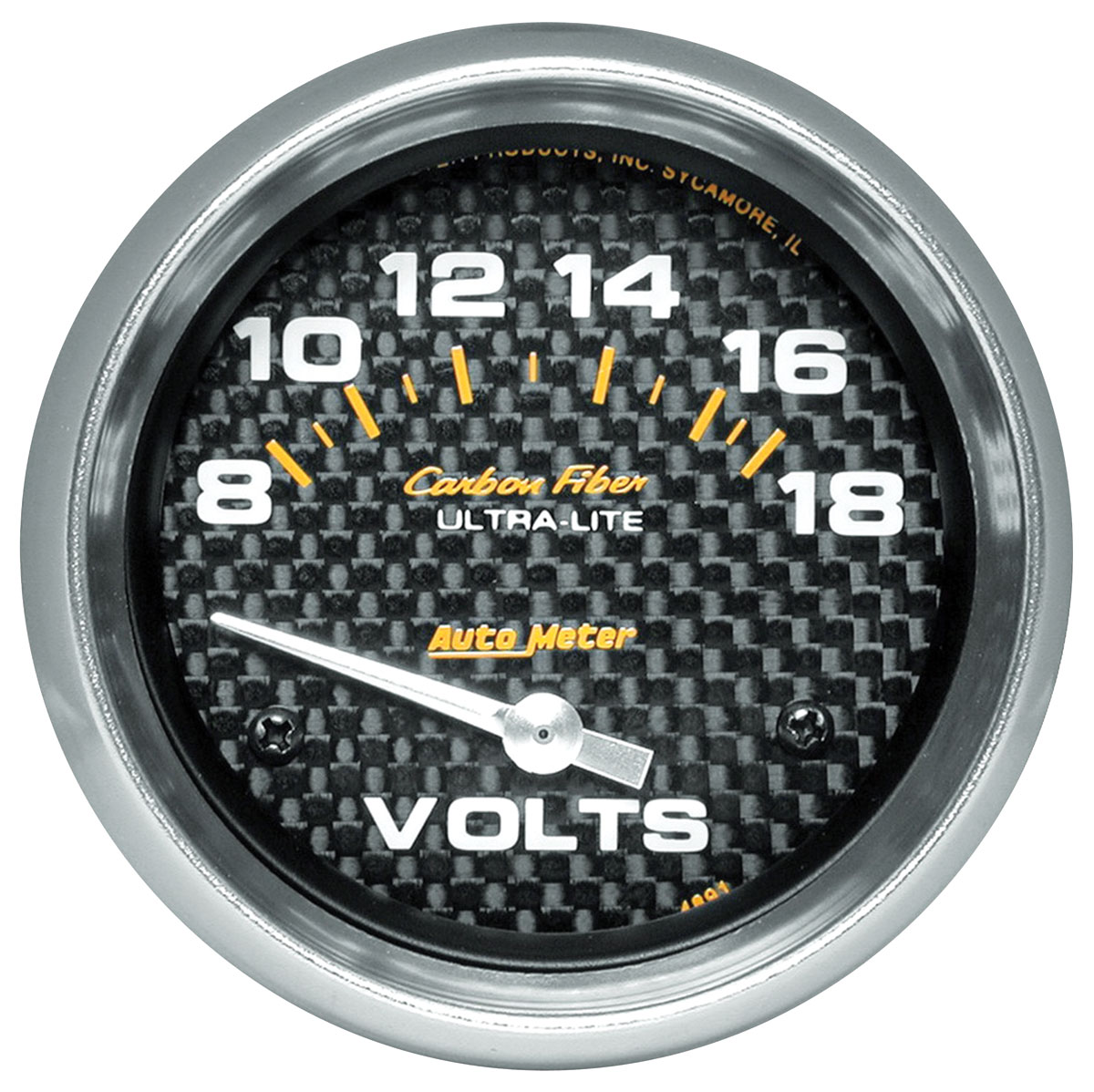 Photo of Gauges, Carbon Fiber Series voltmeter (8-18)