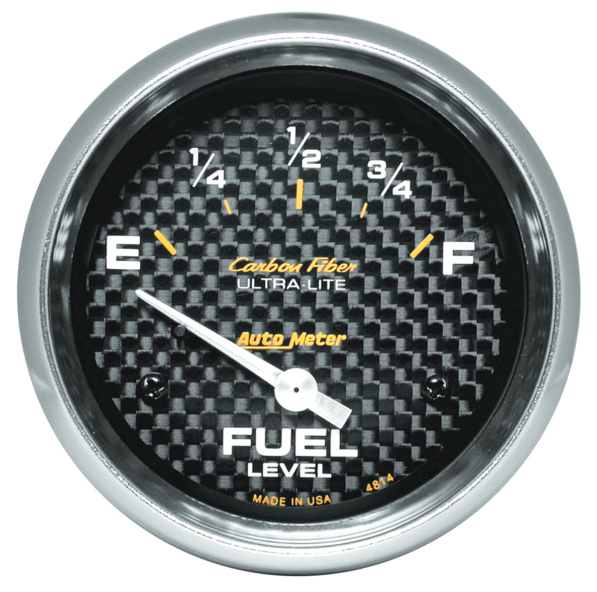 Photo of Gauges, Carbon Fiber Series fuel level (0 empty/90 full)