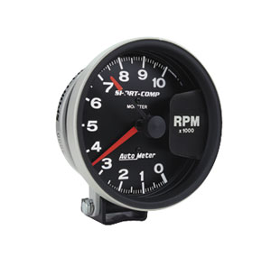 "1964-1973 GTO Products Sport Comp 5"" Monster Tach (10,000 Rpm), by Autometer"