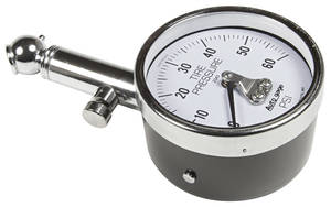 1961-77 Cutlass Tire Pressure Gauge 60 Psi, by Autometer