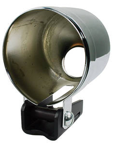 Gauge Accessory - Mounting Cup Chrome, by Autometer