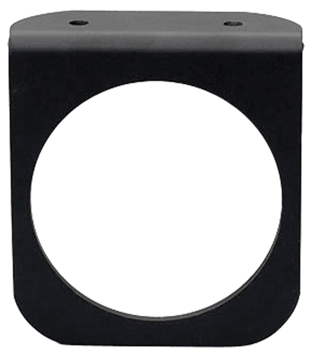 "Photo of Gauge Accessory - Black Gauge Panel, 2-5/8"" one hole"