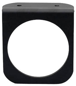 Gauge Accessory - Gauge Panel Black, One-Hole, by Autometer