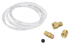 "Gauge Accessory - Nylon Tube Hose 6-Ft., 1/8"" w/Fittings"