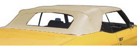 1966-67 Skylark Convertible Tops, StayFast Premium w/Plastic Window