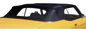 1968-72 GTO Convertible Tops, StayFast Premium w/Plastic Window