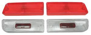 Tail & Back-Up Lamp Lens, 1964 Chevelle Lens Kit