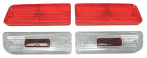 Tail & Back-Up Lamp Lens, 1964 Chevelle Lens Kit