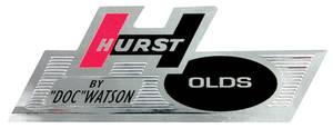 """1968-1968 Cutlass Glove Box Decal, """"Hurst/Olds"""""""