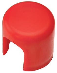1961-77 Cutlass Alternator End Cap, Plastic Red