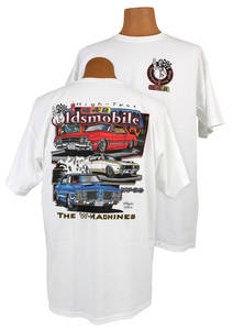 1961-77 Cutlass Oldsmobile 4-4-2 T-Shirt, by Hot Rods Plus